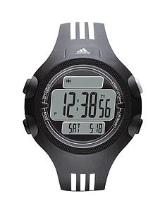 adidas-questra-xl-black-with-white-stripes-pu-strap-unisex-watch