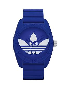 adidas Originals Santiago Blue Silicone Strap Unisex Watch
