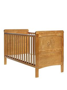 winnie-the-pooh-deluxe-winnie-the-pooh-cot-bed-with-free-sprung-mattress