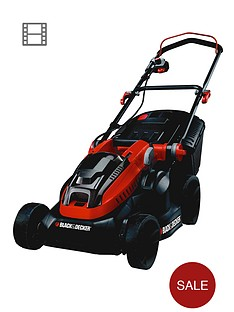 black-decker-clm3820l2-gb-36-volt-lithium-ion-cordless-mower-with-2-batteries