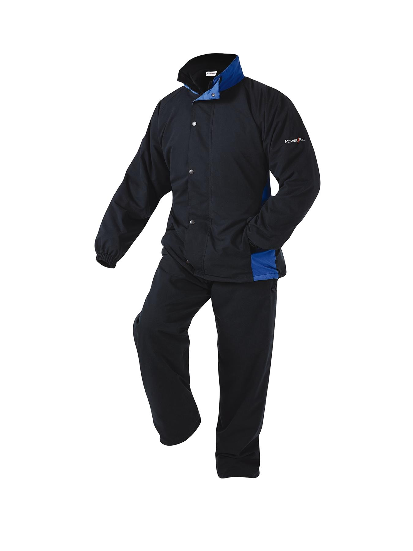 Powerbilt Nimbus Waterproof Mens Golf Suit - Black, Black