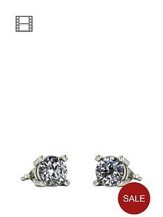 moissanite-1-carat-moissanite-9-carat-white-gold-solitaire-earrings