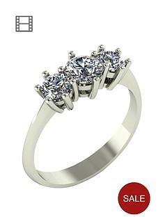 moissanite-1-carat-moissanite-9-carat-white-gold-trilogy-ring