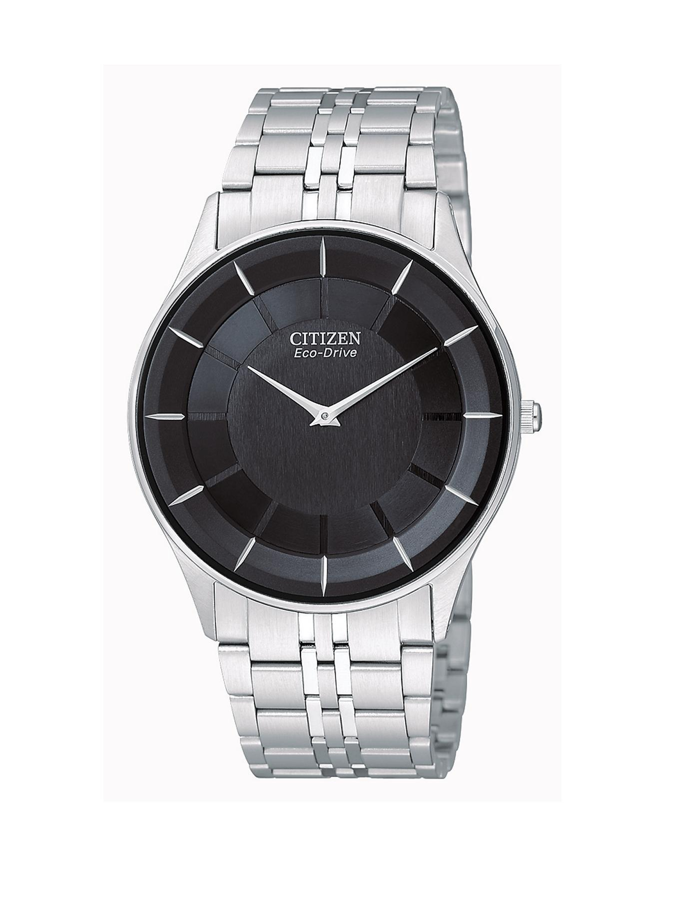 Citizen Eco-Drive Stiletto Ultra Slim Bracelet Mens Watch