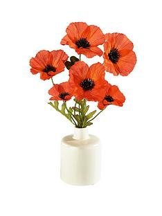 3-poppies-in-ceramic-vase