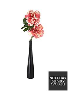 2-peonies-in-black-vase