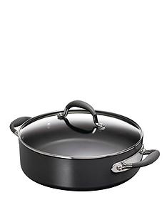 raymond-blanc-hard-anodised-28cm-covered-saute-pan