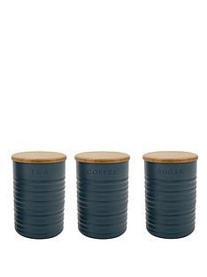 typhoon-slate-ripple-tea-coffee-and-sugar-canisters-3-pack