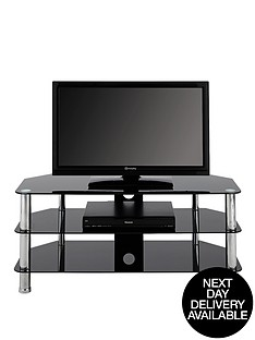 ramone-flatscreen-tv-stand-in-blackchrome-50-inch