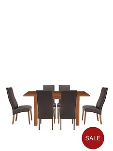 primo-120-150-cm-extending-table-6-buckingham-chairs-buy-and-save
