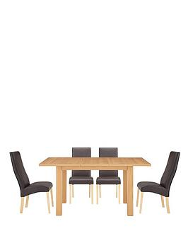 Primo Extending Table and 4 Buckingham Chairs