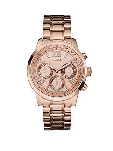 guess-sunrise-rose-gold-plated-stainless-steel-ladies-watch