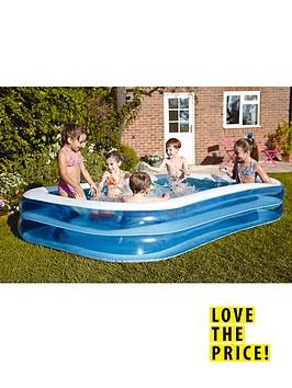 bestway-blue-rectangular-family-pool