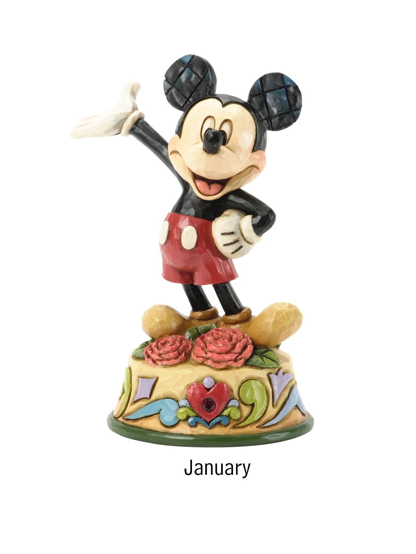 Disney Traditions Mickey Mouse Birthstone Figurine