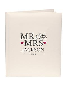 personalised-mr-and-mrs-photo-album
