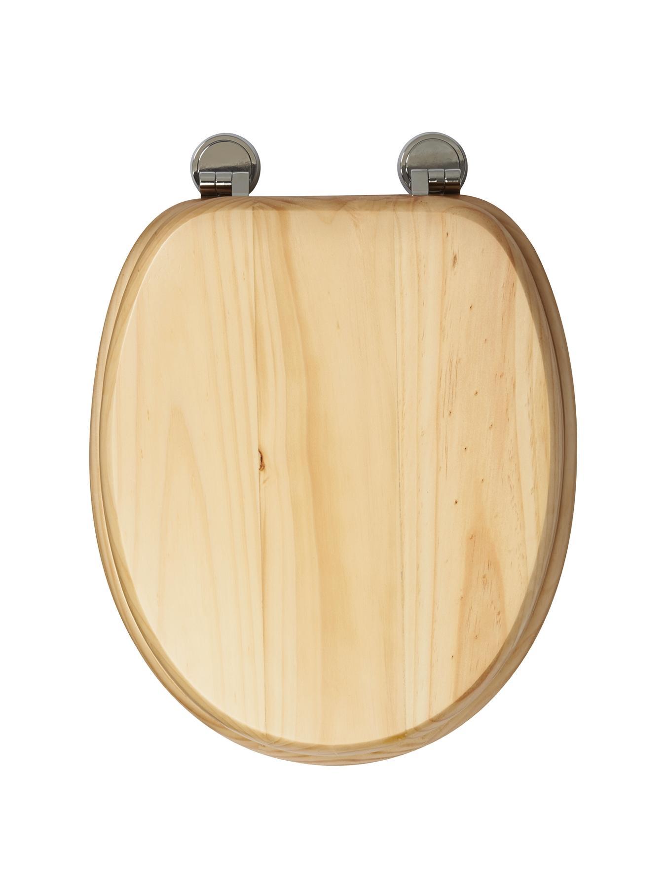 Croydex Douglas Natural Pine Toilet Seat