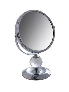 danielle-creations-chrome-and-crystal-decoration-magnified-vanity-mirror-with-double-sided-viewing