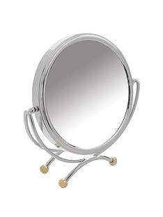 danielle-creations-two-tone-low-profile-vanity-mirror-with-high-magnification