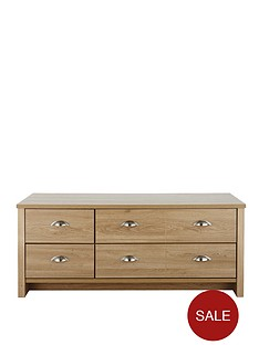 consort-tivoli-ready-assembled-4-drawer-storage-coffee-table