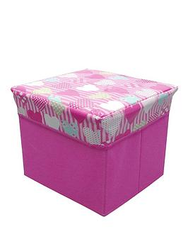 hearts-novelty-kids-storage-cube