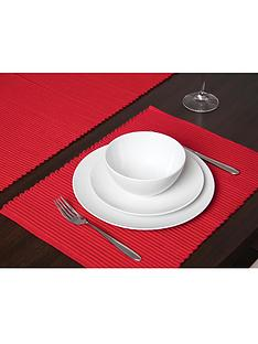 sabichi-ribbed-table-runner-red