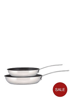 circulon-genesis-stainless-steel-frying-pans-twin-pack