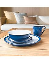 Imperial Blue 16-Piece Dinner Set