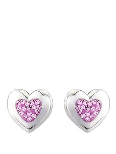 keepsafe-sterling-silver-and-pink-crystal-stud-earrings