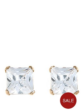 love-gem-9-carat-yellow-gold-5-mm-square-white-cubic-zirconia-stud-earrings