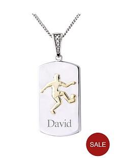 keepsafe-personalised-mens-sterling-silver-cubic-zirconia-set-football-pendant