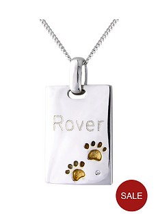 love-silver-personalised-sterling-silver-cubic-zirconia-set-pawprints-tag-pendant