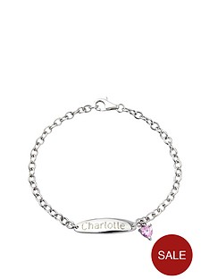 keepsafe-personalised-sterling-silver-with-pink-cubic-zirconia-heart-id-bracelet