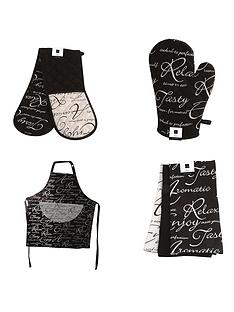 price-kensington-script-kitchen-textile-set-6-piece