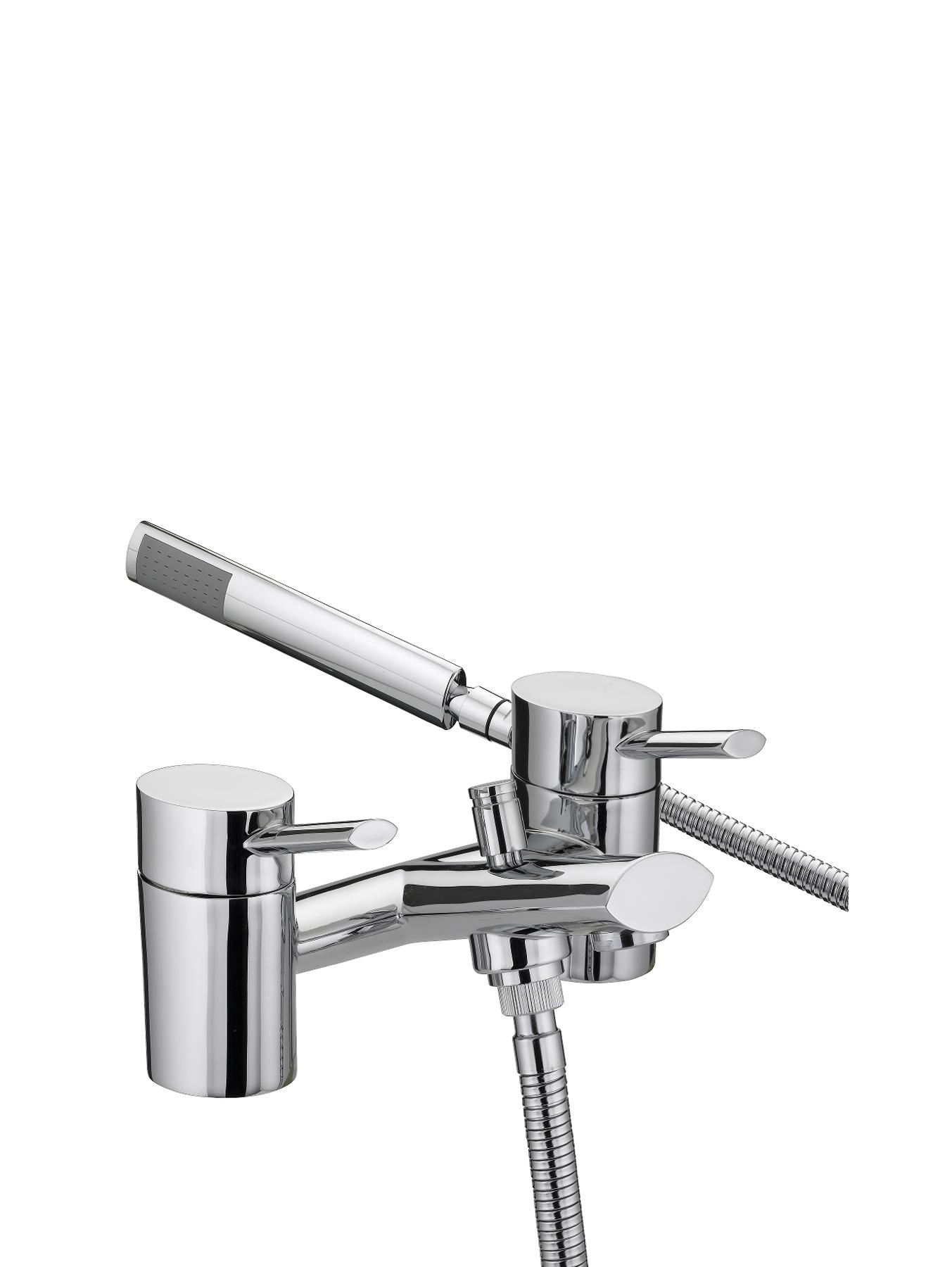 Bristan Oval Bath Shower Mixer Tap - Chrome