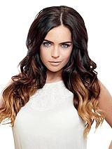 Deluxe Clip-in Ombre 100% Remy Human Hair Extensions 16 inch