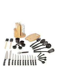 swan-31-piece-knife-block-utensil-set