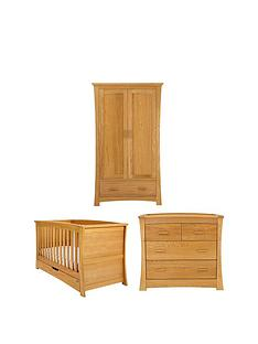 mamas-papas-ocean-cotbed-dresser-and-wardrobe-spring-oak-buy-and-save