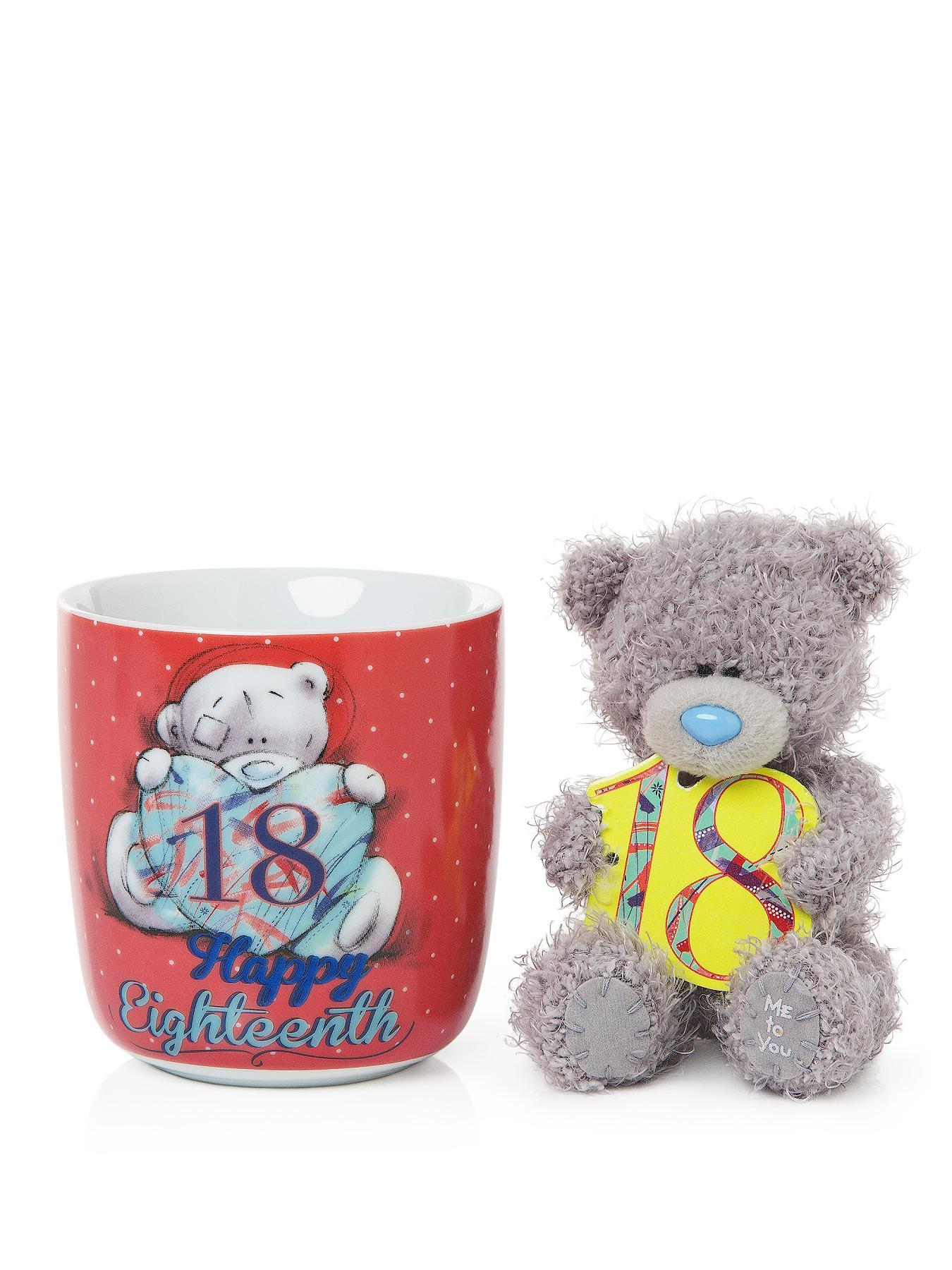 Me To You Tatty Teddy 18th Birthday Mug and Bear