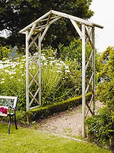 forest-honeysuckle-wooden-garden-arch
