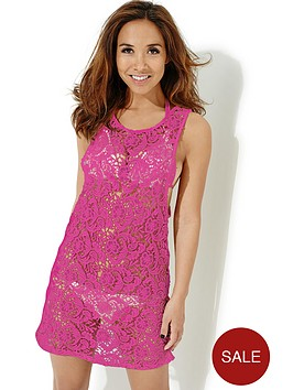 myleene-klass-racer-back-lace-dress