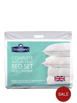 downland-complete-anti-allergy-bed-set-duvet-pillows-and-mattress-protector