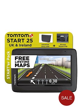 tomtom-starter-pack-start-25-uk-sat-nav-with-lifetime-maps-and-carry-case-and-air-vent-mount