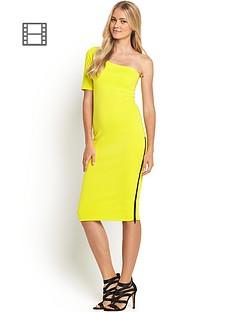 definitions-one-shoulder-scuba-dress