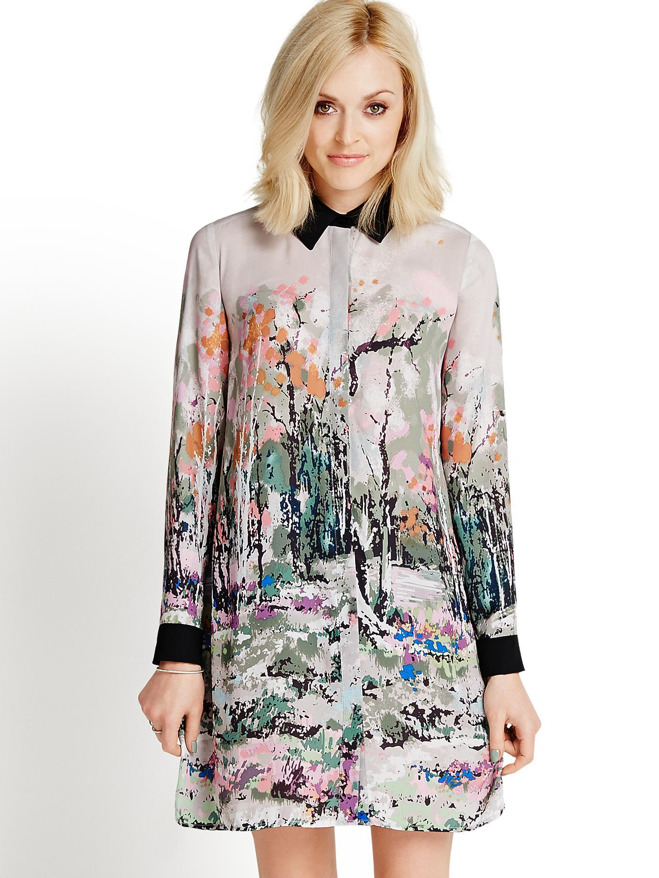 Fearne Cotton Printed Shirt Dress