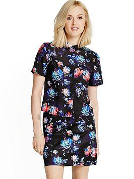 fearne-cotton-short-sleeve-printed-shirt