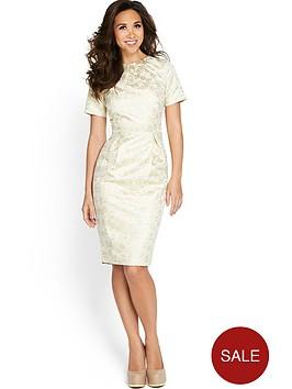 myleene-klass-jacquard-pencil-dress