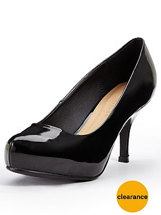 shoe-box-park-mid-heel-court-shoes-black