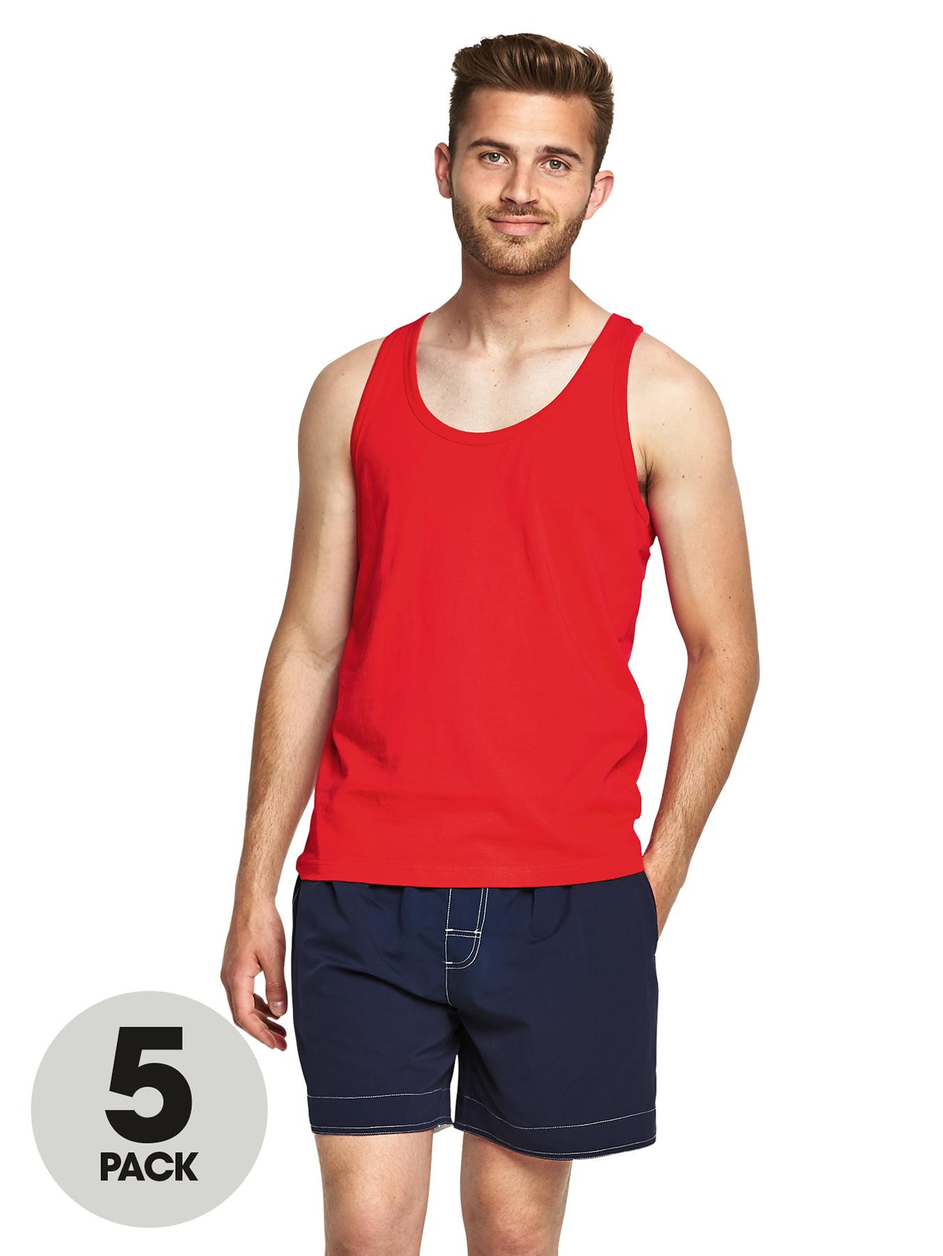 Goodsouls Mens Vests (5 Pack)