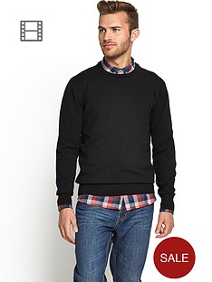 crew-neck-knit-blk