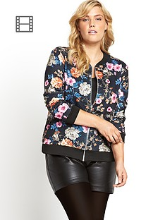 quilted-floral-print-bomber-jacket